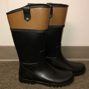 Sperry rain boots